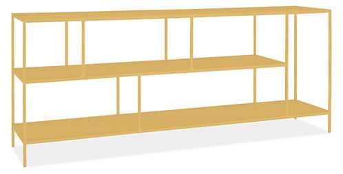 Foshay Console Bookcase Saffron - Room & Board