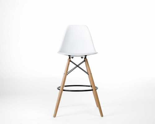 Dsw Counter Stool - White - Rove Concepts