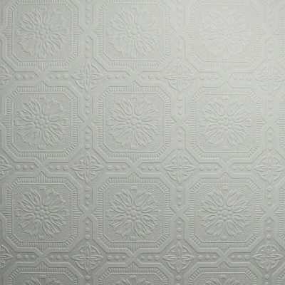 "Paintable 33' x 20.5"" Damask 3D Embossed Wallpaper Roll - Wayfair"