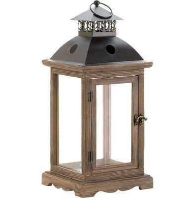 Wooden Lantern - Large - Wayfair