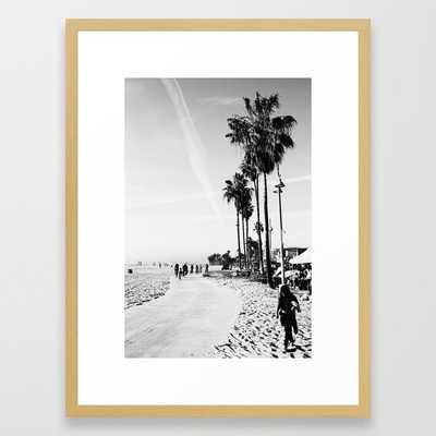 Venice Beach Framed Art Print - Society6