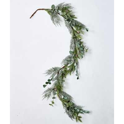5' Mixed Pine and Eucalyptus Garland - Wayfair
