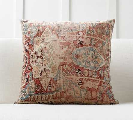 Basilia Print Pillow Cover - Pottery Barn