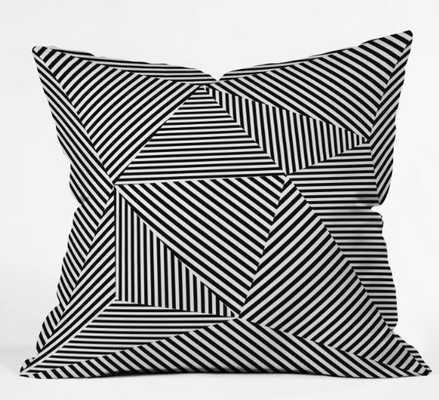DAZZLE APARTMENT PILLOW - Wander Print Co.