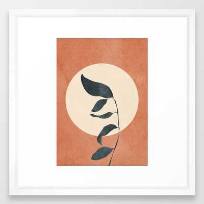 Summer Leaves Framed Art Print - Society6