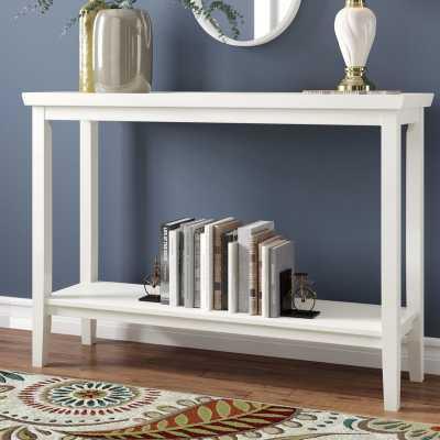Gwen Console Table / White - Wayfair