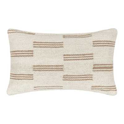 STRIPE BREAK LUMBAR PILLOW BY SARAH SHERMAN SAMUEL - Lulu and Georgia