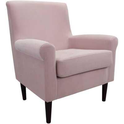 Ponce Upholstery Armchair - Blush Pink - Wayfair