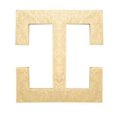 Leaf Square Knob - Wayfair