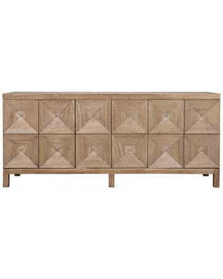 QUINN 3-DOOR SIDEBOARD, WASHED WALNUT - McGee & Co.