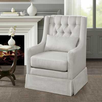 Shrum Swivel Wingback Chair - Wayfair