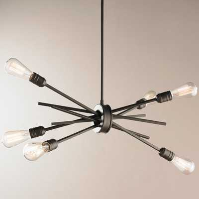 INDUSTRIAL GATHERED CHANDELIER - SMALL - Shades of Light