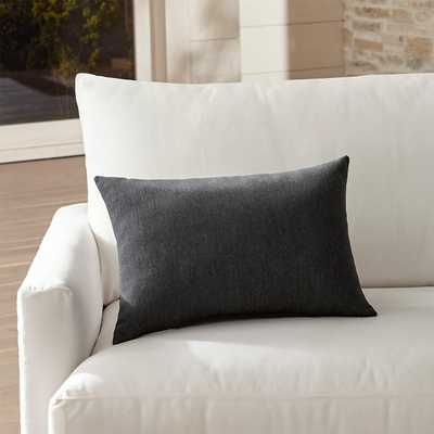Sunbrella  Outdoor Lumbar Pillow - Crate and Barrel
