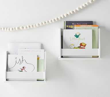 Collector's Mini Book Rack, Simply White - Pottery Barn Kids