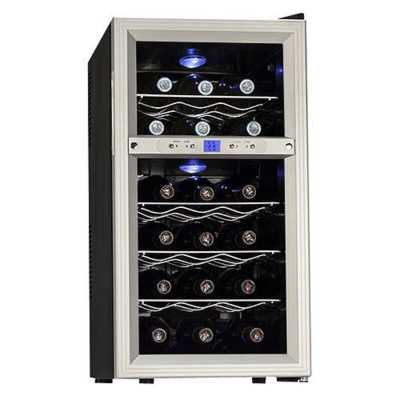 18 Bottle Dual Zone Freestanding Wine Refrigerator - Wayfair