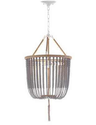 Latifa 3 - Light Unique / Statement Empire Chandelier with Beaded Accents - AllModern