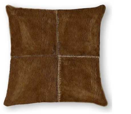 Graham Leather Pillow - AllModern