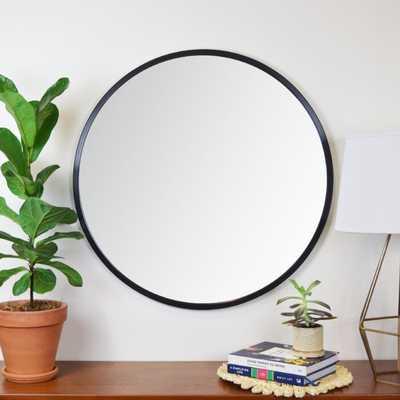 Clique Modern and Contemporary Wall Mounted Mirror - 24x24 - Wayfair
