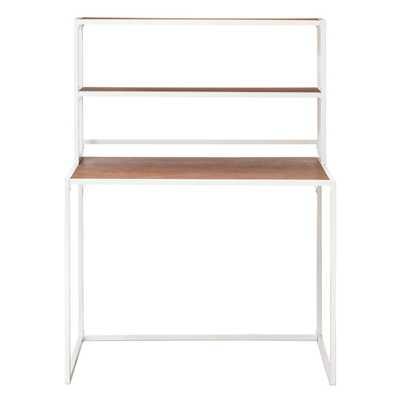 Boone Kids Desk with Hutch - Campanula White - Pillowfort™ - Target