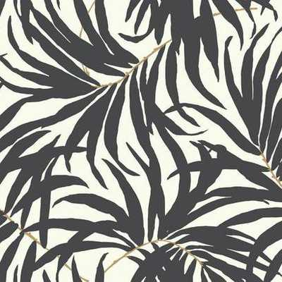 Bali Leaves - Prepasted Wallpaper SAMPLE - York Wallcoverings