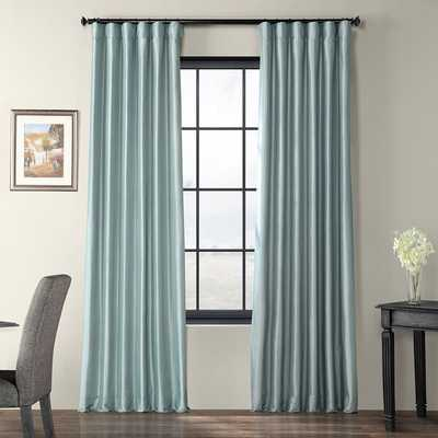 Lochleven Solid Color Room DarkLochleven Solid Room Darkening Thermal Rod Pocket Single Curtain Panel - Wayfair
