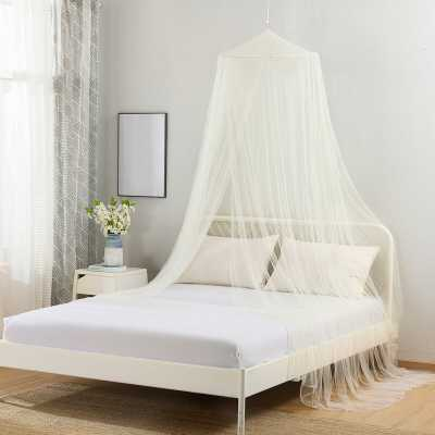 Sandown Collapsible Hoop Sheer Mosquito Net Bed Canopy - Wayfair