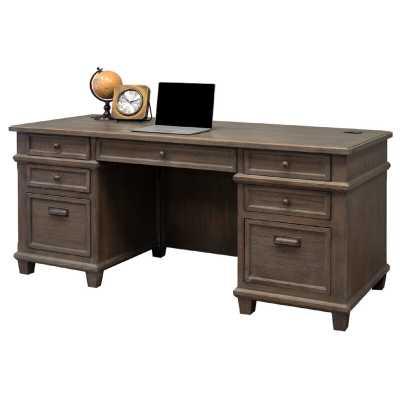 Larissa Executive Desk - Wayfair