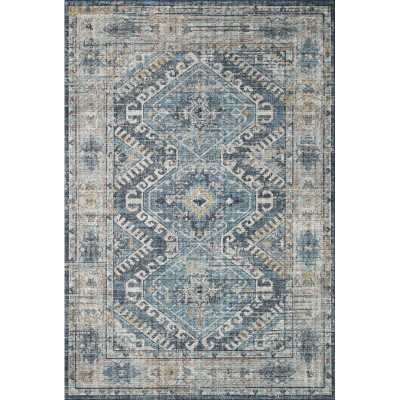 Denim/Gray Area Rug - Wayfair