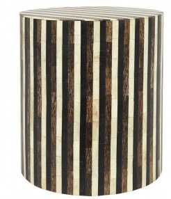 STRIPE SIDE TABLE - Jayson Home