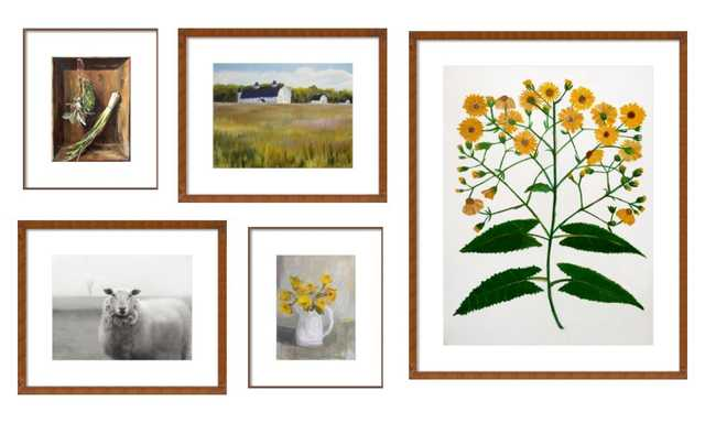 Gallery Wall - Simple Life - Artfully Walls