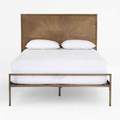 Array King Bed - Crate and Barrel