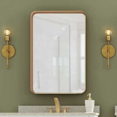 Lugo Rectangle Accent Mirror - Wayfair