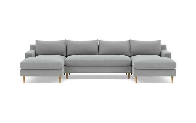 Sloan MINERAL U-Sectional BENCH DEEP Seating and Extra Long Chiase - Interior Define