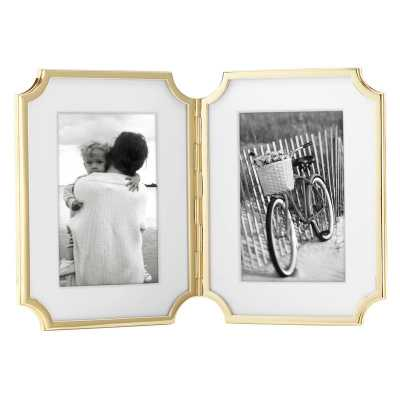 Kate Spade New York Hinged Double Picture Frame - Wayfair