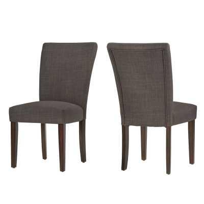 Lancaster Upholstered Dining Chair Set of 2 - Wayfair