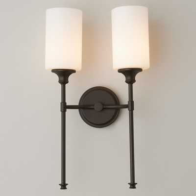 TRACIE DOUBLE ARM CLASSIC SCONCE - Shades of Light