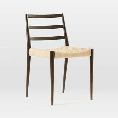 Holland Dining Chair, Dark Mineral - West Elm