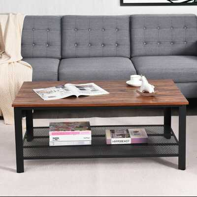 Teddrick Coffee Table with Storage - Wayfair