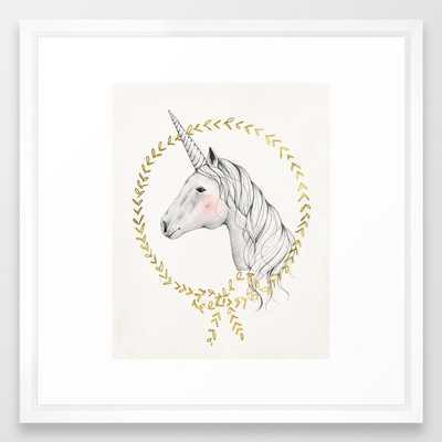 Unicorn Framed Art Print - Society6