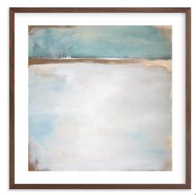 "daydream no. 1  16"" x 16"" Walnut Frame - Minted"