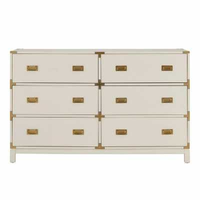 Arnulfo 6 Drawer Double Dresser - Wayfair