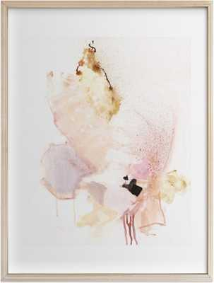 Delicate 30x40 brass frame - Minted