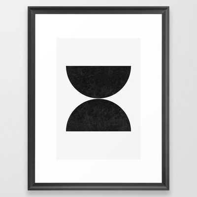Minimalist Spheres Framed Art Print - Society6