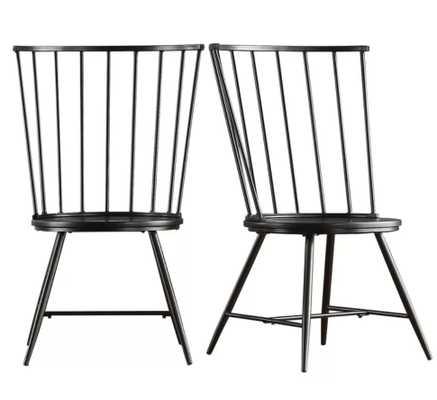 Vecchia Dining Chair - Set of 2 - Wayfair