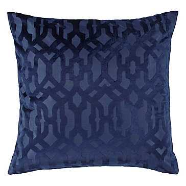 """Monaco Pillow 24"""" - With insert Sapphire - Z Gallerie"""