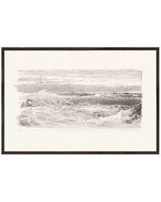 SKETCHED SEASCAPE Framed Art - McGee & Co.