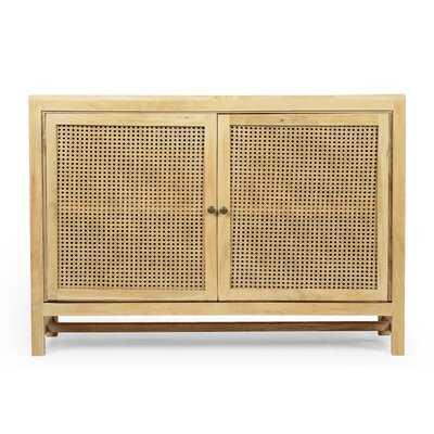 Willoughby Mango Wood 2 Door Accent Cabinet - Wayfair