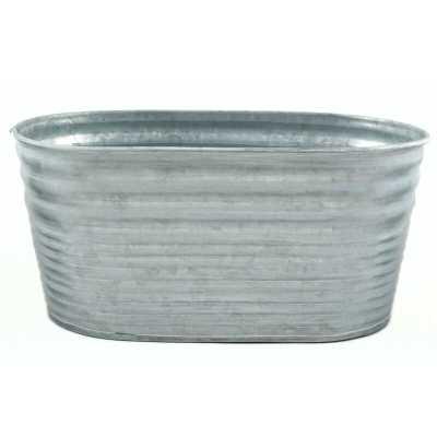 Galvanized Tin Oblong 3 Piece Bucket Set (Set of 3) - Wayfair