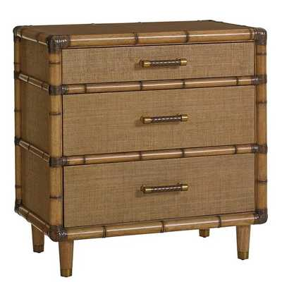 TWIN PALMS 3 DRAWER BACHELOR'S CHEST - Perigold