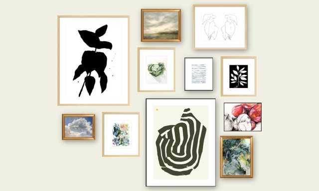 Gallery Wall - An Effortless Mix - Artfully Walls
